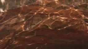 Kaustyczni lekcy odbicia na piaskowu zbiory