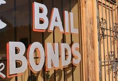 Kautions-Bondzeichen Lizenzfreie Stockbilder