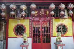 Kauw Dorpspier, Penang, Maleisië stock foto's