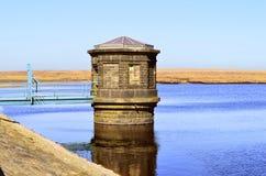 Kauw reservoir royalty-vrije stock afbeelding