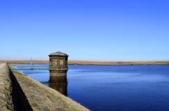 Kauw reservoir stock afbeelding