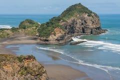 Kauwahaia海岛鸟瞰图  免版税库存图片