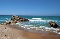 Kava Paradise rocks. Coo Greece Royalty Free Stock Photos