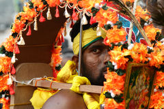 Kavadi carrier Royalty Free Stock Images