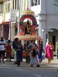 Kavadi At Ipoh Old-Town. During the 2018 Thaipusam celebrations near the Jalan Sultan Yusuf/Jalan Dato Sagor junction Royalty Free Stock Image