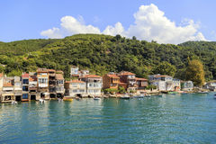 Kavagi village, Istanbul,Turkey. Stock Photo