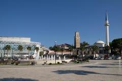 Kavaje老市和一个自治市在地拉那州,阿尔巴尼亚 免版税图库摄影