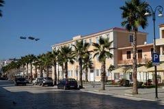 Kavaje老市和一个自治市在地拉那州,阿尔巴尼亚 免版税库存照片