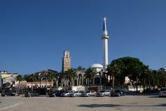 Kavaje stary miasto i zarząd miasta w Tirana okręgu administracyjnym, Albania Zdjęcie Stock