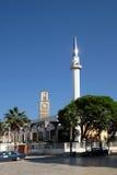 Kavaje stary miasto i zarząd miasta w Tirana okręgu administracyjnym, Albania Obraz Stock