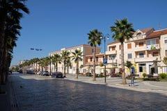 Kavaje stary miasto i zarząd miasta w Tirana okręgu administracyjnym, Albania Obraz Royalty Free