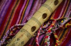 Kaval - traditionele instrumenten Stock Foto's