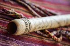 Kaval - traditionella instrument arkivbilder