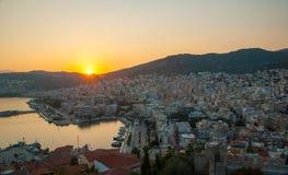 Kavala,希腊 免版税库存图片
