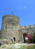 Kavala castle tower,Greece Stock Image