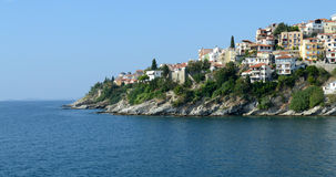Kavala city in Greece Stock Images
