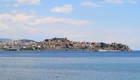 Kavala cityscape Royalty Free Stock Photo