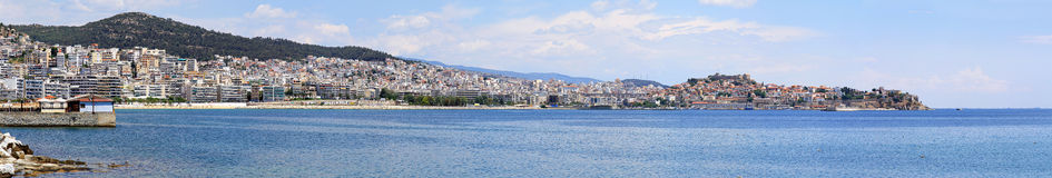 Kavala Greece Stock Image