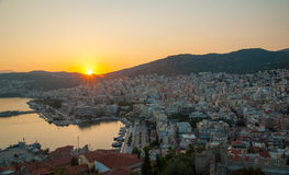Kavala, Greece imagem de stock royalty free