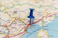 Kavala på översikt arkivbilder