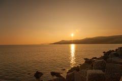 Kavala Town Coast stock photography