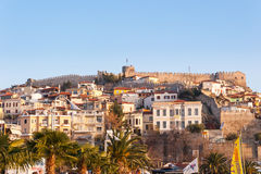 Kavala Town Fortress Stock Photography