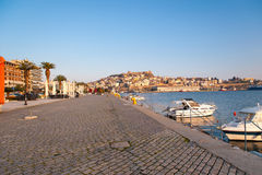 Kavala Town Fortress stock image