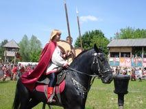 kavalleriryss Arkivfoto