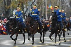 Kavallerisoldater Royaltyfri Fotografi