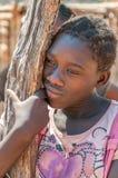 Kavango Girl from Namibia Stock Image
