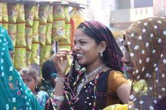 Kavant, Nr Chhota-Udepur, Dist :巴罗达,古杰雷特,印度 免版税图库摄影