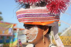 Kavant, Nr Chhota-Udepur, Dist: Vadodara, Gujarat, Índia Foto de Stock Royalty Free