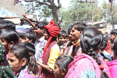 Kavant, Nr Chhota-Udepur, Dist: Vadodara, Gujarat, Indien Stockbilder
