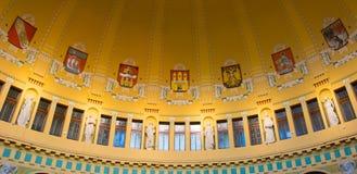 Kavarna Fantova - urbium Praga mater Στοκ εικόνα με δικαίωμα ελεύθερης χρήσης