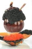 Kaviaar voor het eten Royalty-vrije Stock Fotografie