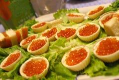 kaviar royaltyfria bilder