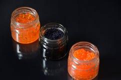 Kaviar Arkivbild