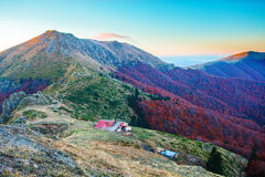 From Kavladan peak to Yumruka peak Royalty Free Stock Images