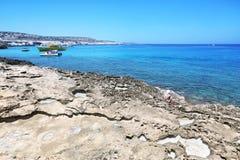 Kavo Greko przylądek w Cypr Fotografia Stock