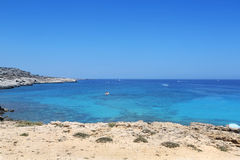 Kavo Greko udde i Cypern Royaltyfri Bild