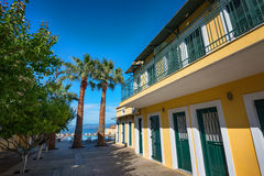Kavos village, Greece Royalty Free Stock Images
