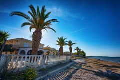 Kavos village, Greece Royalty Free Stock Photography
