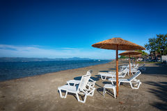 Kavos village, Greece Royalty Free Stock Photo