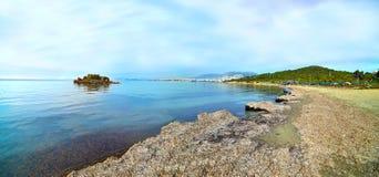 Kavouri beach in Attica Greece Stock Images