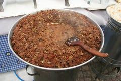 Kavurma, famous turkish meal Stock Photos