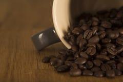 Kaw espresso fasole Obraz Stock