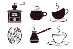 Kaw etykietki ustawiać Zdjęcie Stock