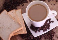 Kaw fasole mleko i Obraz Stock