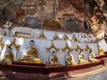 Kaw Gunn Cave. Kawa Gunn Cave near Hpa An, Myanmar Royalty Free Stock Photo