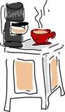 kawę jpg Obrazy Royalty Free